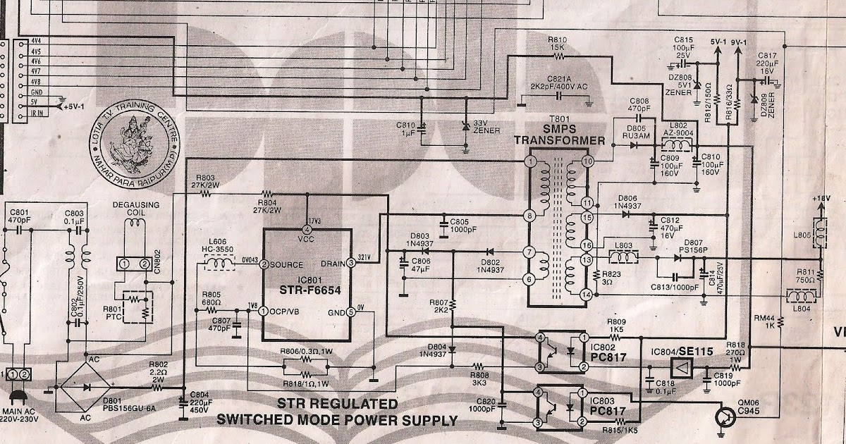 Electronics Diagrams 4 All  Str - F6654