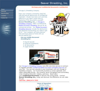 Beaver Shred, INC. - Chicago Document Shredding