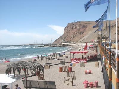 Visita a las playas El Laucho y La Lisera