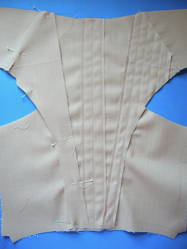 how to make a corset liner