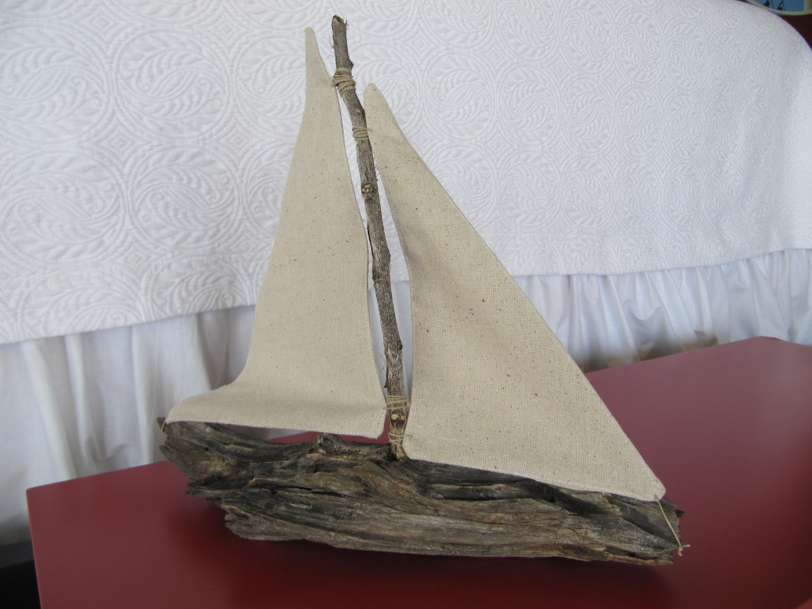 Laurie 39 s projects driftwood sailboat for Driftwood crafts to make