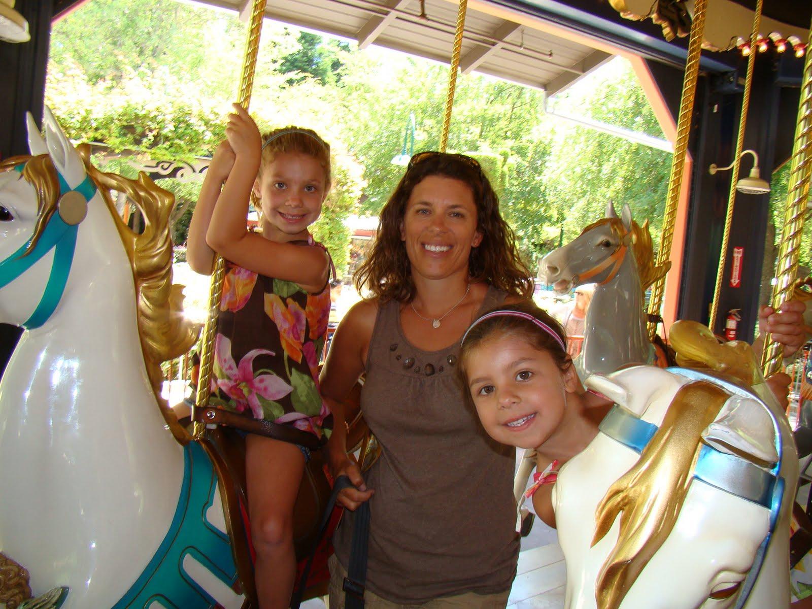 The Brown Family: Gilroy Gardens