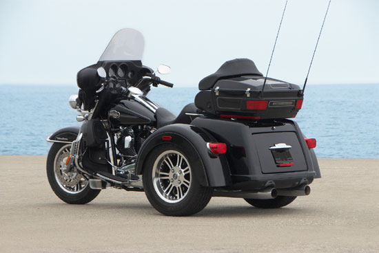 Based on a new chassis designed specifically for this three-wheel ...
