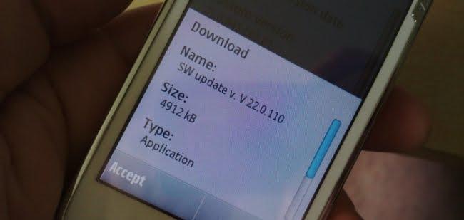 Firmware v22.0.110 Para Nokia N97