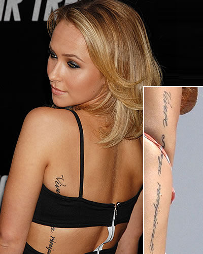 hayden panettiere tattoo. hayden panettiere tattoo.