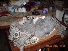 Artesanías mapuches