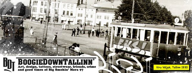 Boogie Down Tallinn - Art, design, tattoos, music & crime