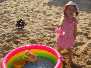 Ема и басейна
