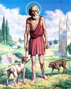 ST. LAZARUS, the Friend of Jesus