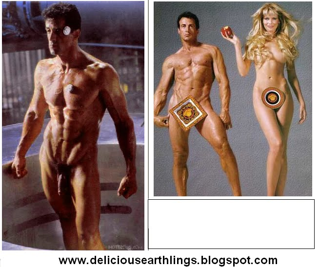free sylvester stallone nude