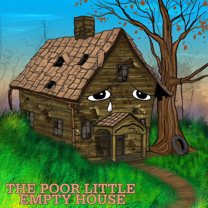 POOR LITTLE EMPTY HOUSE illustration
