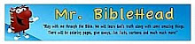 Blog through the Bible with Jack Foster and Mr. Biblehead