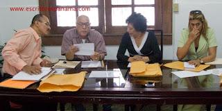 Alex Mariscal, José Córdova, Griselda López y Daisy Tristán