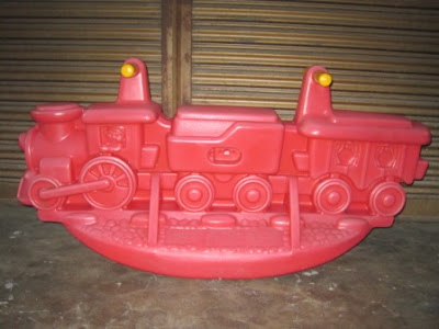 Little Tikes Train See Saw My Baby