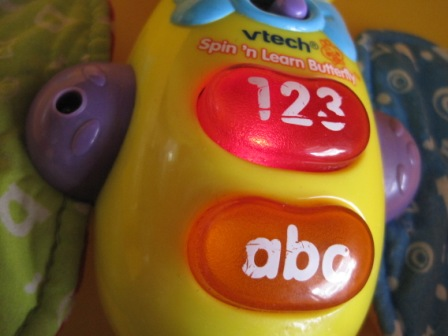 Vtech butterfly spin and learn