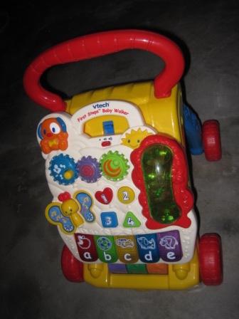 Vtech Pushwalker My Baby Stuff