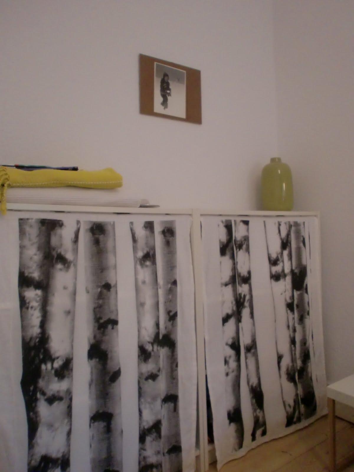 regal mit vorhang kleiderschrank garderobe chicago regal schrank vulcano eiche mit vorhang ebay. Black Bedroom Furniture Sets. Home Design Ideas