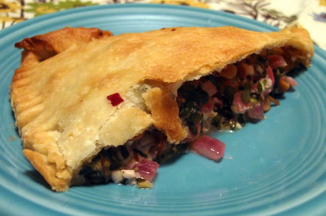 Veggie Obsession: Savory Purslane and Feta Pies