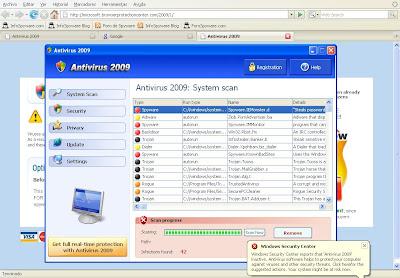Eliminar Antivirus 2009