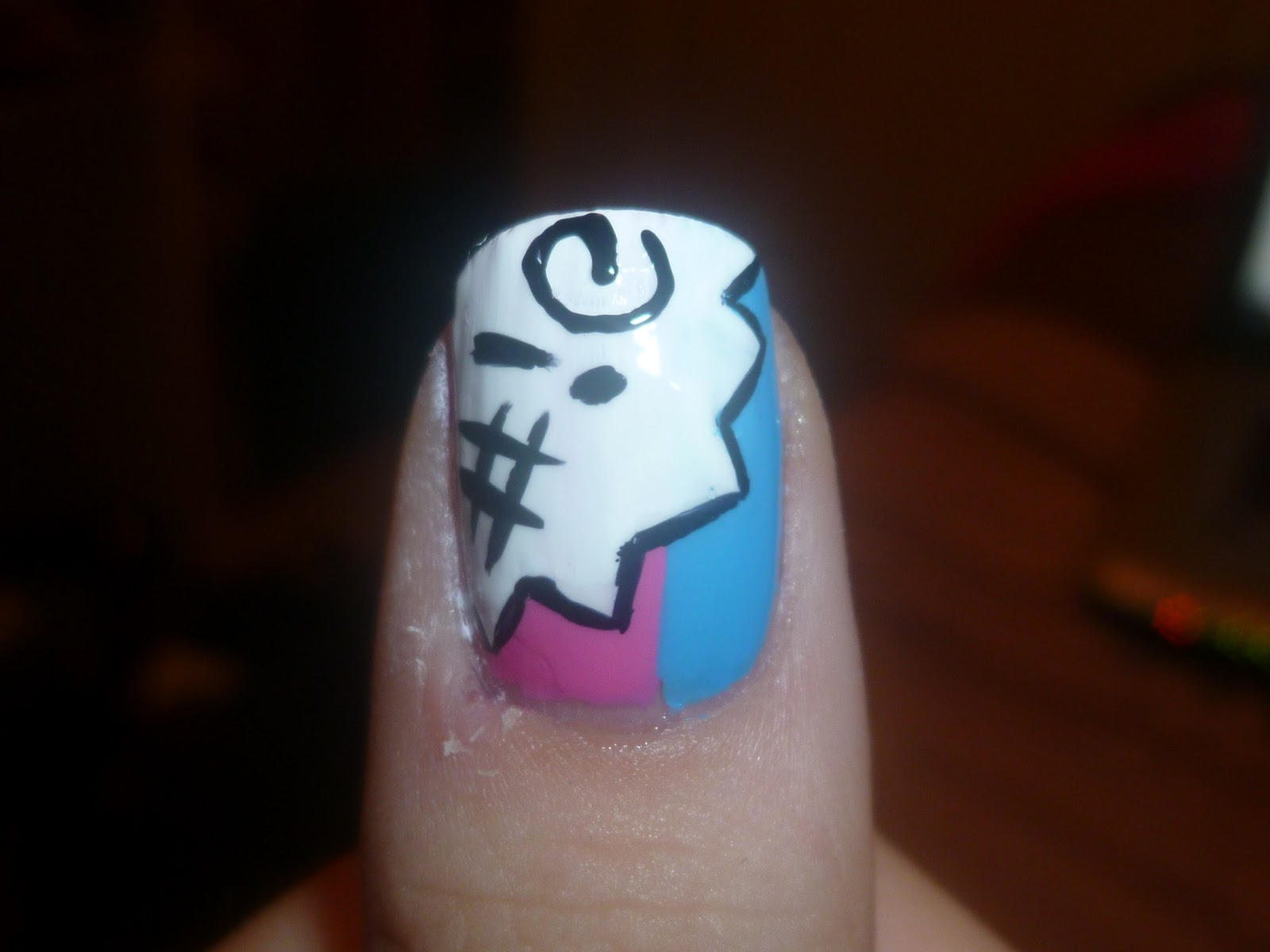 the little curly girl: nail art