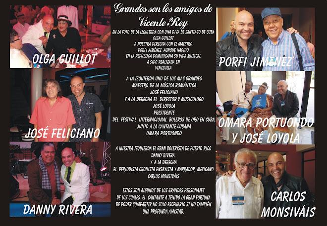 Amigos y Artistas de Vicente Rey