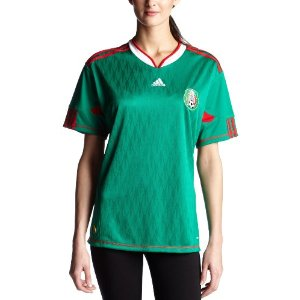 International soccer jerseys  adidas Women s Mexico Home Jersey 87a05a70d