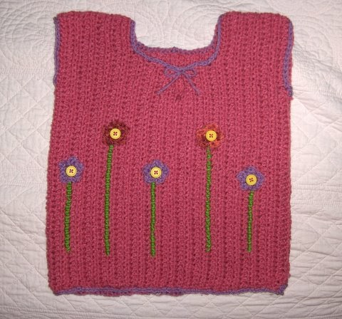 Baby Sweaters To Crochet Patterns : Stitching Up a Storm: Crochet Baby Sweater Vest