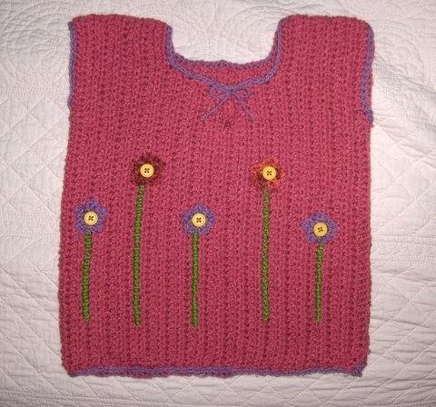 PATTERN CROCHET CHILD VEST ? Free Crochet Patterns