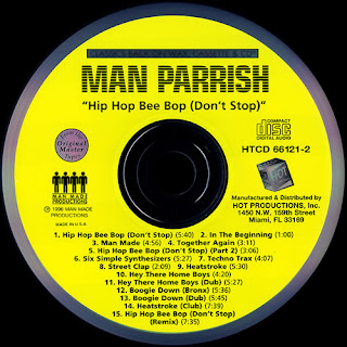 Man Parrish - Hip Hop Bee Bop (CD-1996)(Hot Associated Label)
