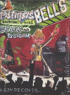 VA - B Boy Records - Hardcore X-Mas (Vinyl, LP 1987)(B-Boy Records)