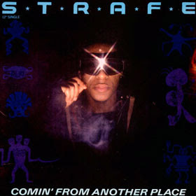 Strafe - Comin' From Another Place (Vinyl, 12'' 1985)(A&M Records)