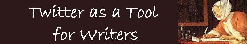 Twitter as a Tool for Writers