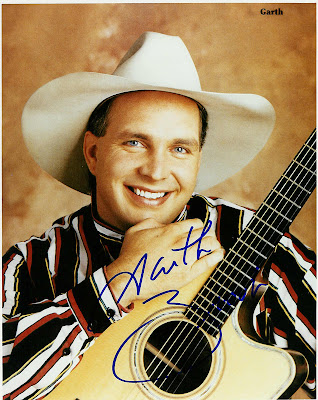 GarthBrooks8x10 Sebelum Mereka Terkenal... inilah pekerjaan mereka