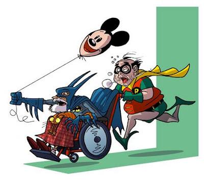 Batman y Robin viejos