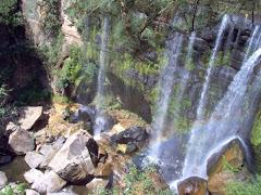 Cascada de San Pedro Atmatla, en el municipio de Zacatlán (Sierra Norte de Puebla).