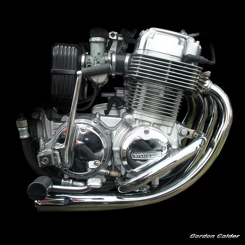 Honda Motorcycle With Fit Engine: I-one Playground: The Heart Of The Motorcycle: Motorcycle