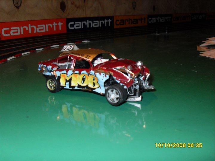 Banger slot cars