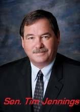 Senate President pro tem Tim Jennings