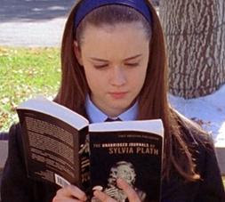 SYLVIA PLATH NOW: Sylvia Plath on Gilmore Girls
