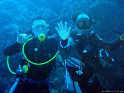 Greg & Wayan, Menjangan Island, NW Bali