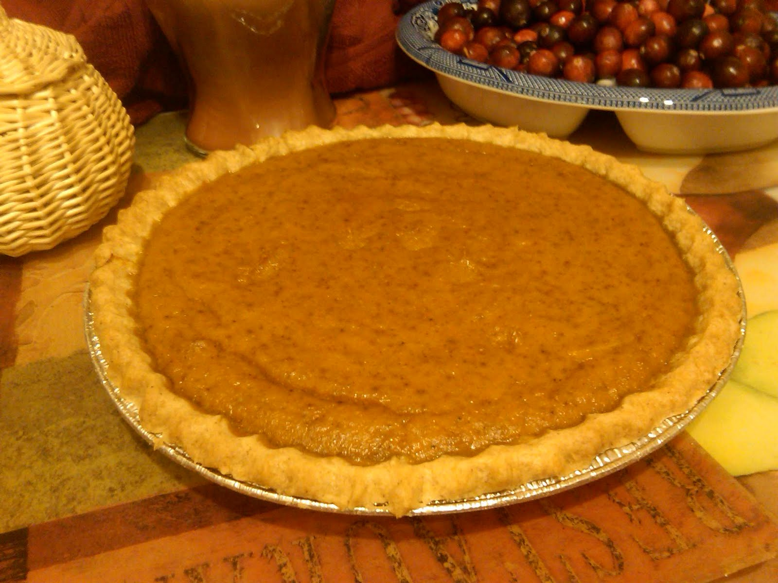 "... several web sites that boast of having ""the best"" Pumpkin Pie R..."