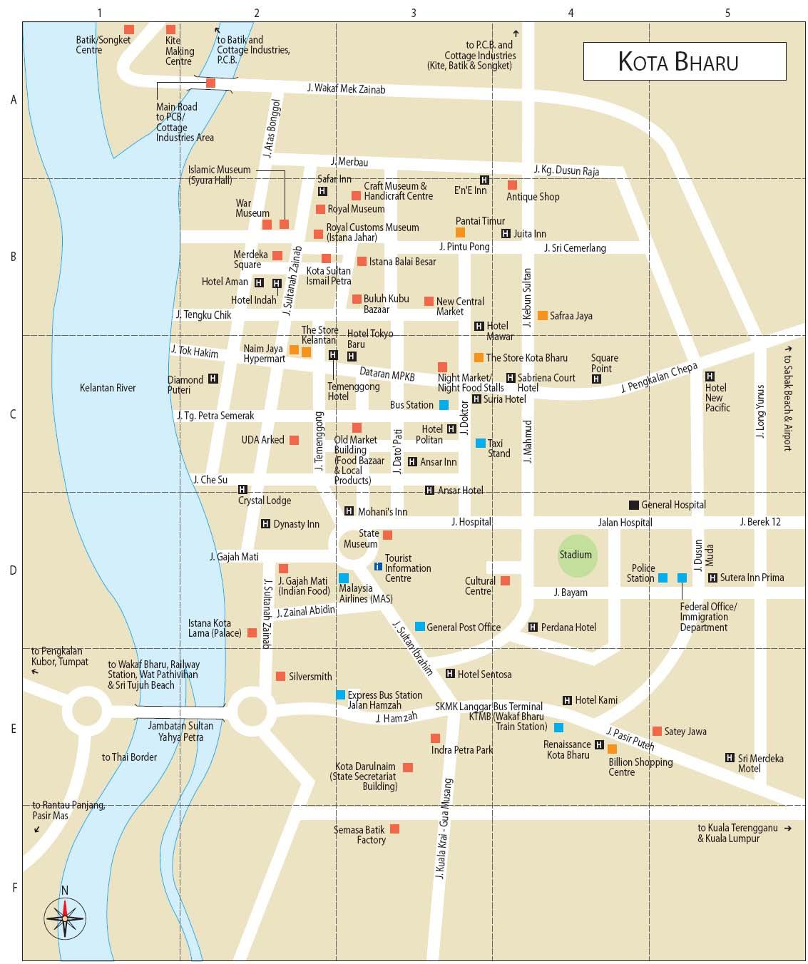 Kota Bharu Malaysia  City new picture : Kota Bharu Hotel s