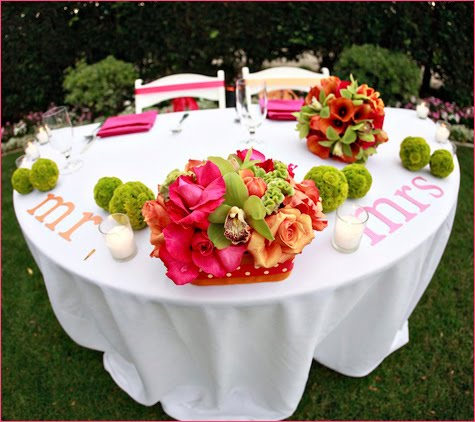 Latisha says The table setting is so perfect for an outdoor summer wedding