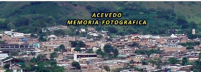 ACEVEDO, MEMÓRIA FOTOGRÁFICA