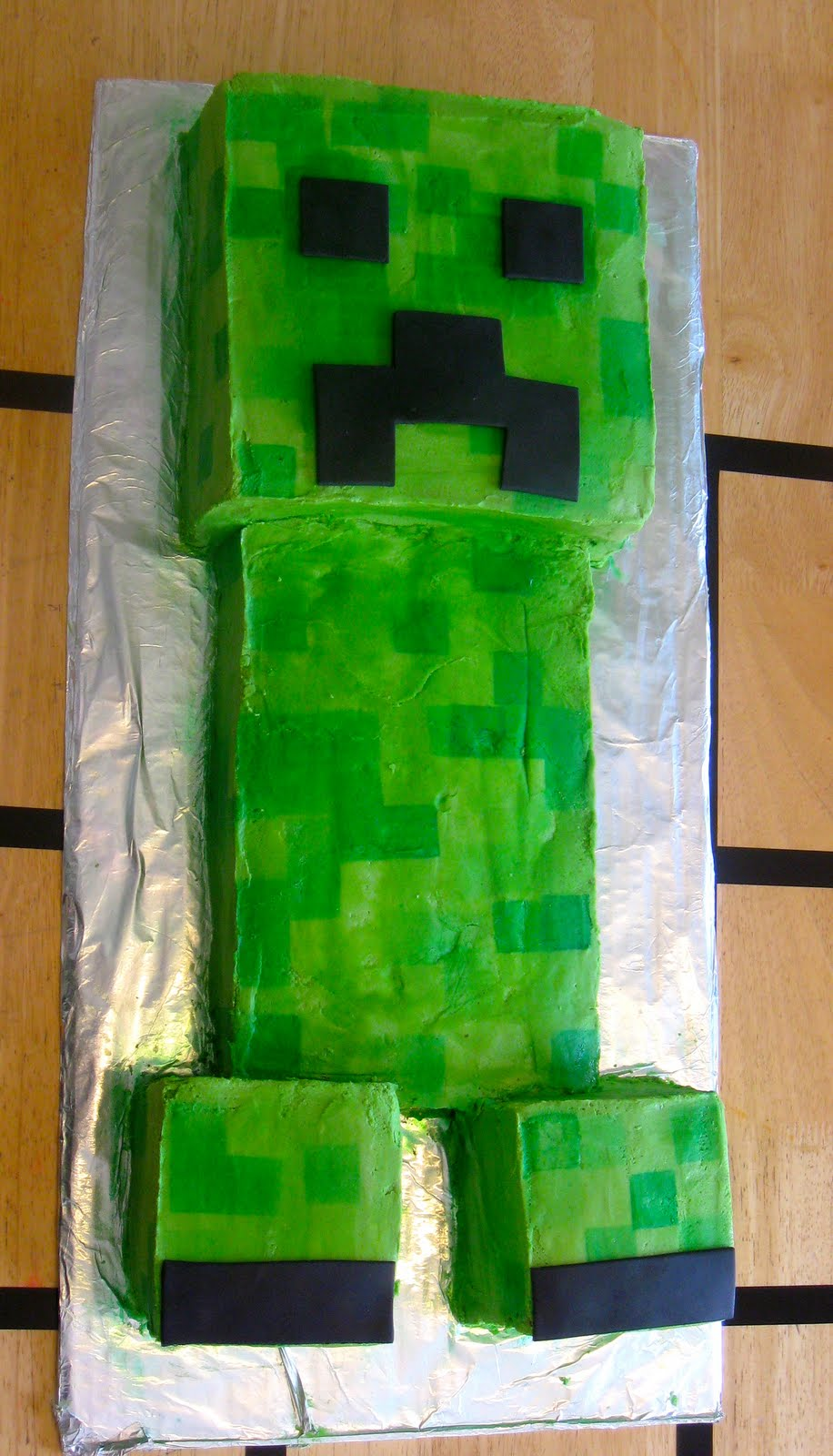 Creepers Birthday Cake