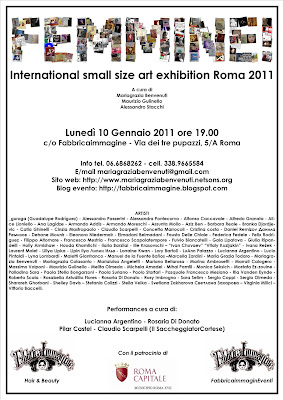 "International Art Exhibition ""female"" (15 x 15 cm works)"