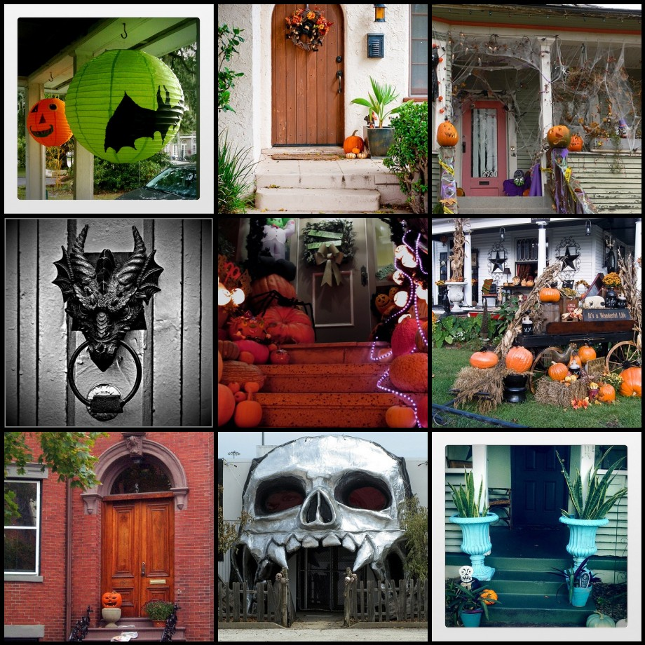 Rue De Vamp Halloween Doors