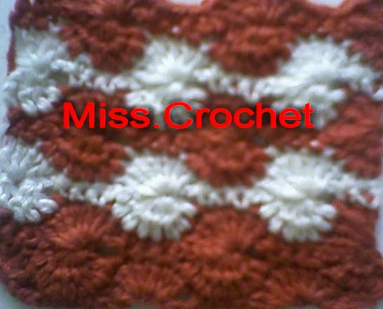 Ms.crochet: Catherine wheel stitch