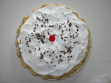 CHERRY CHOCOLATE CREAM PIE