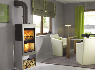 The new york green advocate twinfire the most efficient for Small efficient wood stoves